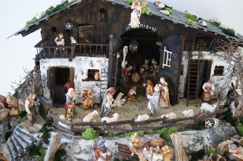 Bayerische Weihnachtskrippe